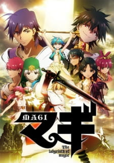 Magi: The Labyrinth of Magic (Dub) (2012)