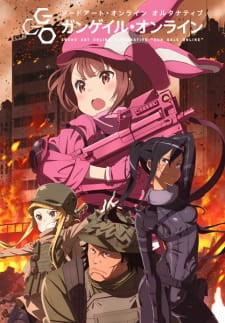 Sword Art Online Alternative: Gun Gale Online (Dub) (2018)