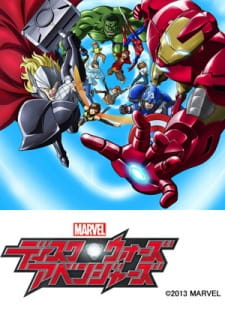 Marvel Disk Wars: The Avengers (Dub)